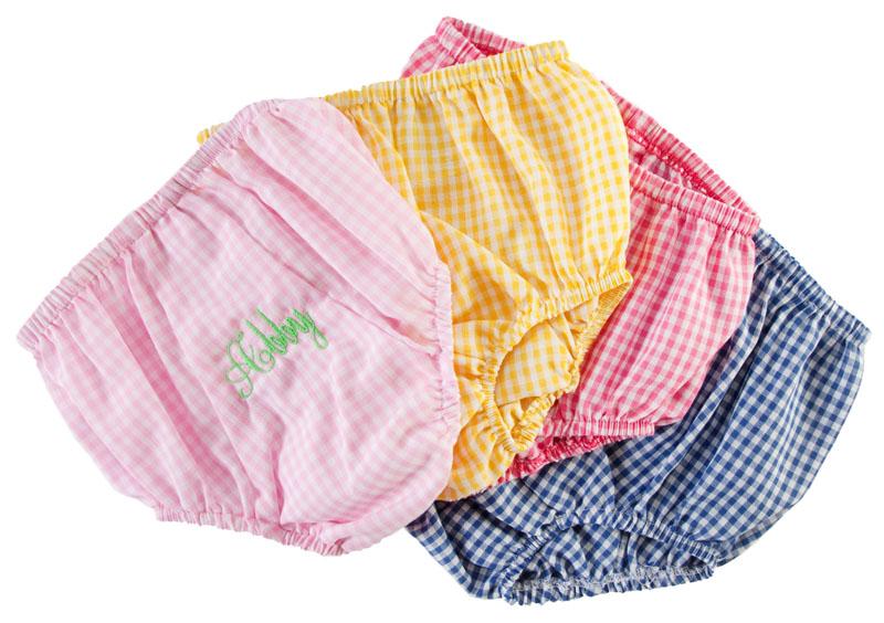 Gingham Diaper Covers