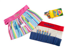 Tool Belt and Crayon Aprons