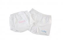 White Diaper Covers