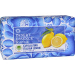 Desert Essence Bar Soap - Exfoliating Italian Lemon 5 oz.