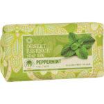 Desert Essence Gluten Free / Vegan Bar Soap - Peppermint 5 oz.