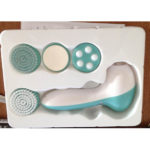 Electric 4 in 1 Personal Care System for Your Face, Hands, and Feet.