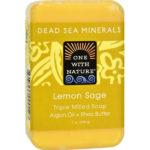 One With Nature Dead Sea Minerals Lemon Verbena Soap 7 oz.
