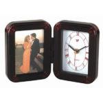 Picture Frame Desk Clock, Folding (Non-Digital, No Alarm)