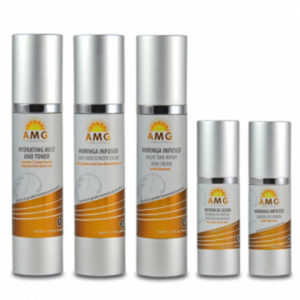 Skin Care System with a Moringa-infused formula delivers powerful vitamins, nutrients and botanicals