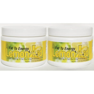 Lemon Aid Fat Burning Drink Mix - Convert Fat to Energy (2 Containers)